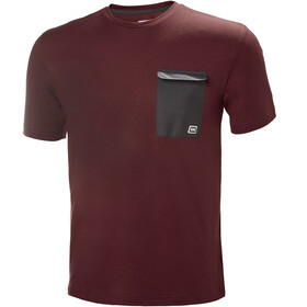 Helly Hansen Lomma T-Shirt Men oxblood
